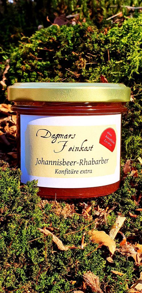 Johannisbeer-Rhabarber Konfitüre extra Image