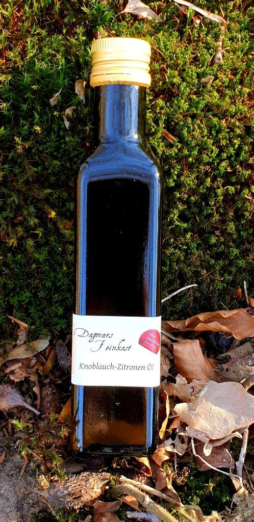 Knoblauch-Zitronen Öl Image