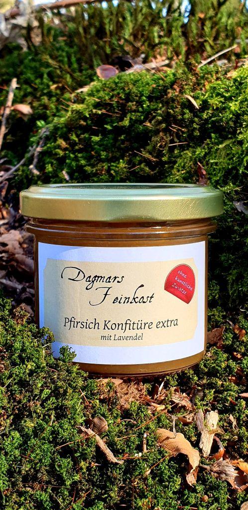 Pfirsich-Lavendel Konfitüre extra Image