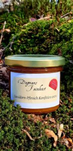 Sanddorn-Pfirsich Fruchtaufstrich Image
