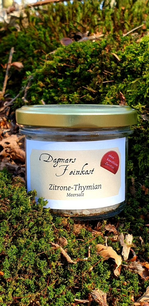Zitronen-Thymian Salz Image